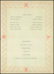 Page 9, 1942 Edition, Rock Falls High School - Scarlet and White Yearbook (Rock Falls, IA) online yearbook collection