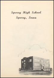 Page 5, 1952 Edition, Sperry High School - Bombardier Yearbook (Sperry, IA) online yearbook collection