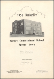 Page 5, 1956 Edition, Sperry High School - Bombardier Yearbook (Sperry, IA) online yearbook collection