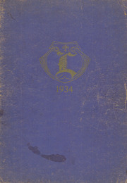 1934 Edition, Lockridge High School - Golden L Yearbook (Lockridge, IA)