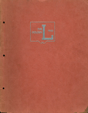 1935 Edition, Lockridge High School - Golden L Yearbook (Lockridge, IA)