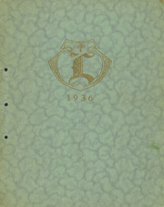1936 Edition, Lockridge High School - Golden L Yearbook (Lockridge, IA)