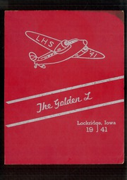1941 Edition, Lockridge High School - Golden L Yearbook (Lockridge, IA)