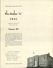 Page 5, 1941 Edition, Lockridge High School - Golden L Yearbook (Lockridge, IA) online yearbook collection