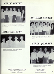 Page 27, 1960 Edition, Homer High School - Knights Yearbook (Homer, NE) online yearbook collection