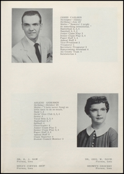 Page 13, 1958 Edition, Grand Meadow High School - Lark Yearbook (Pierson, IA) online yearbook collection