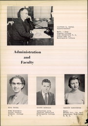Page 4, 1955 Edition, Climbing Hill High School - Hawk Yearbook (Moville, IA) online yearbook collection