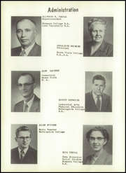 Page 8, 1958 Edition, Climbing Hill High School - Hawk Yearbook (Moville, IA) online yearbook collection