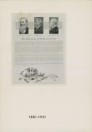 Page 12, 1931 Edition, Drake University - Quax Yearbook (Des Moines, IA) online yearbook collection