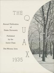 Page 9, 1935 Edition, Drake University - Quax Yearbook (Des Moines, IA) online yearbook collection