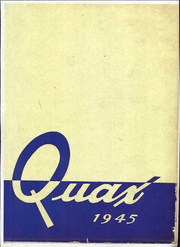 Page 1, 1945 Edition, Drake University - Quax Yearbook (Des Moines, IA) online yearbook collection