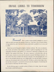 Page 7, 1945 Edition, Drake University - Quax Yearbook (Des Moines, IA) online yearbook collection