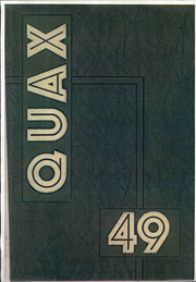 Page 1, 1949 Edition, Drake University - Quax Yearbook (Des Moines, IA) online yearbook collection