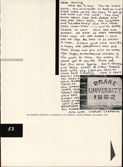 Page 7, 1954 Edition, Drake University - Quax Yearbook (Des Moines, IA) online yearbook collection