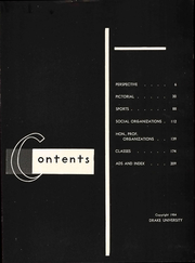 Page 9, 1954 Edition, Drake University - Quax Yearbook (Des Moines, IA) online yearbook collection