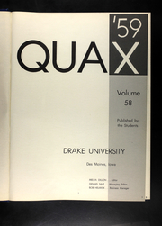 Page 5, 1959 Edition, Drake University - Quax Yearbook (Des Moines, IA) online yearbook collection
