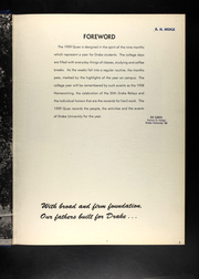 Page 7, 1959 Edition, Drake University - Quax Yearbook (Des Moines, IA) online yearbook collection