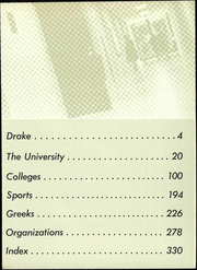 Page 9, 1966 Edition, Drake University - Quax Yearbook (Des Moines, IA) online yearbook collection