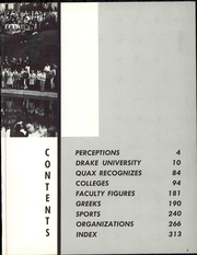 Page 9, 1967 Edition, Drake University - Quax Yearbook (Des Moines, IA) online yearbook collection