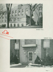 Page 15, 1951 Edition, University of Northern Iowa - Old Gold Yearbook (Cedar Falls, IA) online yearbook collection