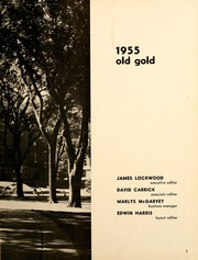 Page 7, 1955 Edition, University of Northern Iowa - Old Gold Yearbook (Cedar Falls, IA) online yearbook collection