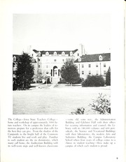 Page 13, 1956 Edition, University of Northern Iowa - Old Gold Yearbook (Cedar Falls, IA) online yearbook collection