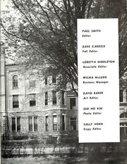 Page 7, 1956 Edition, University of Northern Iowa - Old Gold Yearbook (Cedar Falls, IA) online yearbook collection
