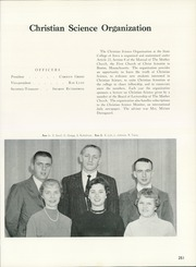 Page 255, 1962 Edition, University of Northern Iowa - Old Gold Yearbook (Cedar Falls, IA) online yearbook collection