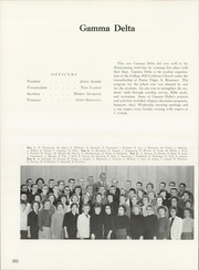 Page 256, 1962 Edition, University of Northern Iowa - Old Gold Yearbook (Cedar Falls, IA) online yearbook collection