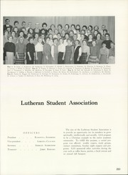 Page 257, 1962 Edition, University of Northern Iowa - Old Gold Yearbook (Cedar Falls, IA) online yearbook collection