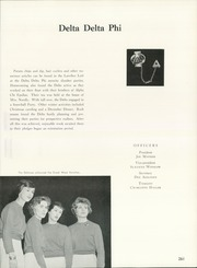 Page 265, 1962 Edition, University of Northern Iowa - Old Gold Yearbook (Cedar Falls, IA) online yearbook collection