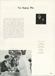 Page 269, 1962 Edition, University of Northern Iowa - Old Gold Yearbook (Cedar Falls, IA) online yearbook collection