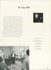 Page 273, 1962 Edition, University of Northern Iowa - Old Gold Yearbook (Cedar Falls, IA) online yearbook collection