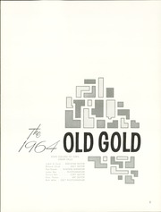 Page 5, 1964 Edition, University of Northern Iowa - Old Gold Yearbook (Cedar Falls, IA) online yearbook collection