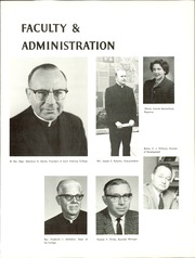 Page 13, 1967 Edition, Saint Ambrose College - Oaks Yearbook (Davenport, IA) online yearbook collection