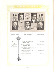 Page 38, 1929 Edition, Loras College - Purgold Yearbook (Dubuque, IA) online yearbook collection