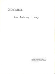 Page 8, 1967 Edition, Loras College - Purgold Yearbook (Dubuque, IA) online yearbook collection