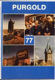 1977 Edition, Loras College - Purgold Yearbook (Dubuque, IA)