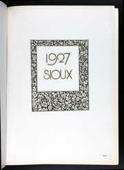 Page 7, 1927 Edition, Morningside College - Sioux Yearbook (Sioux City, IA) online yearbook collection