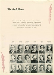 Page 13, 1940 Edition, Morningside College - Sioux Yearbook (Sioux City, IA) online yearbook collection
