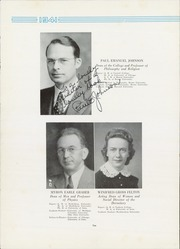 Page 16, 1941 Edition, Morningside College - Sioux Yearbook (Sioux City, IA) online yearbook collection