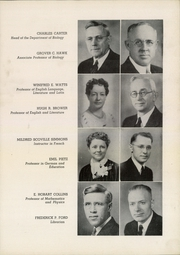 Page 17, 1940 Edition, Parsons College - Peira Yearbook (Fairfield, IA) online yearbook collection