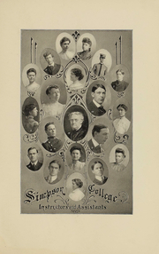 Page 15, 1907 Edition, Simpson College - Zenith Yearbook (Indianola, IA) online yearbook collection