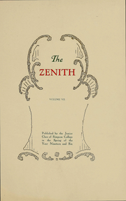Page 5, 1907 Edition, Simpson College - Zenith Yearbook (Indianola, IA) online yearbook collection
