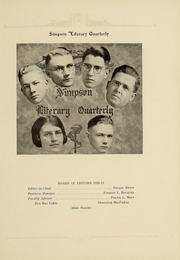 Page 149, 1922 Edition, Simpson College - Zenith Yearbook (Indianola, IA) online yearbook collection