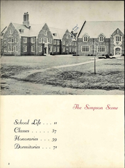 Page 8, 1956 Edition, Simpson College - Zenith Yearbook (Indianola, IA) online yearbook collection