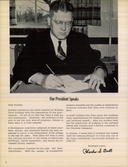 Page 10, 1957 Edition, William Penn University - Quaker Yearbook (Oskaloosa, IA) online yearbook collection