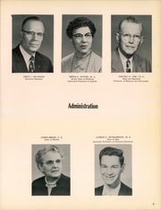 Page 11, 1957 Edition, William Penn University - Quaker Yearbook (Oskaloosa, IA) online yearbook collection