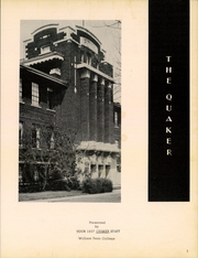 Page 3, 1957 Edition, William Penn University - Quaker Yearbook (Oskaloosa, IA) online yearbook collection