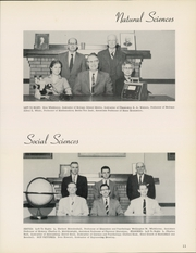 Page 15, 1958 Edition, William Penn University - Quaker Yearbook (Oskaloosa, IA) online yearbook collection